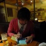 「ブログ飯」の著者マサオさんからサインいただきました♪