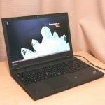 仕事用ノートパソコンの理想形《高性能モバイルワークステーション》使い始めました♪ ThinkPad W540レビュー